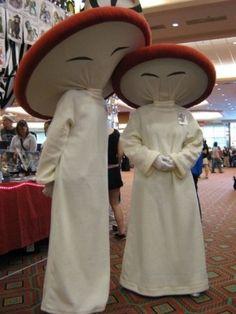 Fantasia mushrooms.