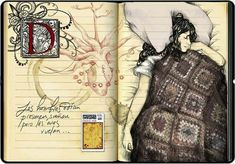 Sketchbook & Altered Book - Mr. Jensen's Art