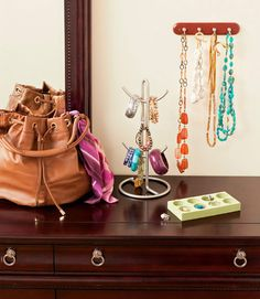 how to organize your dresser top
