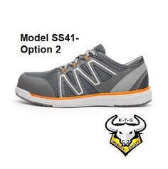 timeless design d7c48 2dc4a Composite Toe Sports Safety Work Shoes - Model SS41 (Option 2)