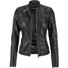 maurices Moto Jacket With Ribbed Knit Sides (81 AUD) ❤ liked on Polyvore featuring outerwear, jackets, leather jackets, black, plus size jackets, collar jacket, plus size womens motorcycle jackets, moto jacket and biker jacket