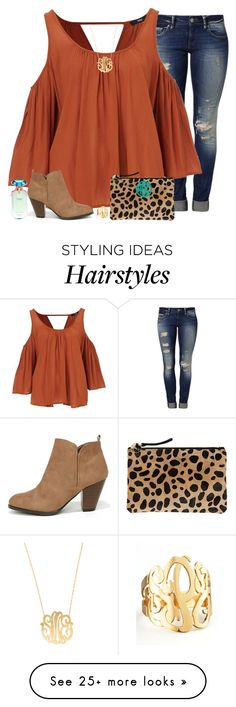 """everything happens for a reason"" by emmig02 on Polyvore featuring Mavi, Moon and Lola, Qupid, Clare V., Jennifer Zeuner and Victoria's Secret"