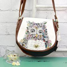 Disaster Designs Hola Owl Satchel for £42.00 at www.lisaangel.co.uk