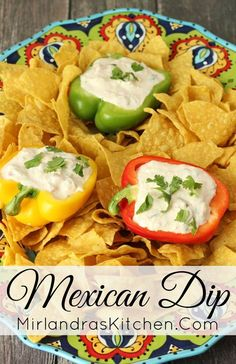 This zesty, creamy Mexican Dip is full of cheese and just a hint of fresh cilantro. Everybody loves this easy ranch based dip that is ready in minutes.  Expect your bowl to get scooped clean at every party!