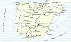Ferrocarriles de España 1880