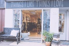 Things I like things I love -  Ceintuurbaan 69 1072 EV Amsterdam ou  Jan Evertsenstraat 106 1056 EH Amsterdam