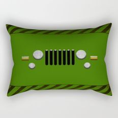 Jeep Rectangular Pillow