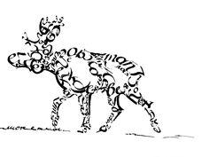 Экзаменационная студенческая работа курса исторической каллиграфии. Romashin Design School? 2015 г.
