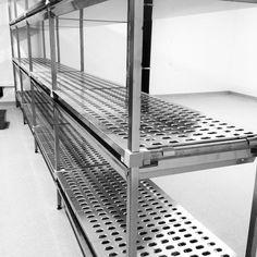"Artinox Australia on Instagram: ""Another full stainless steel shelving installation 🙌"""