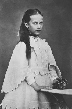 Princess Charlotte of Prussia, July 1873 [in Portraits of Royal Children Vol.17 1872-73] | Royal Collection Trust