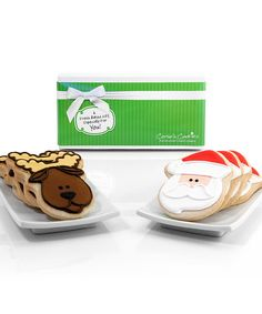 Take a look at this Santa Claus & Reindeer Eight-Cookie Gift Box on zulily today!