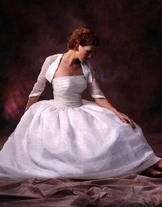 plus size 2 piece wedding gowns