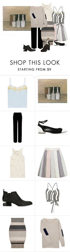 """Still Life 8"" by amanda-anda-panda ❤ liked on Polyvore featuring Carven, Roberto Cavalli, Lanvin, Kain, Thom Browne, Alexander Wang, Alice + Olivia, Gandía Blasco, Orwell + Austen and Charlotte Olympia"
