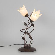 Lámpara de mesa TULIPANO 2 óxido