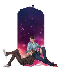 Doctor Who - The Doctor x Jack Harkness ........I DIDN'T REALIZE THIS ACTUALLY HAD A SHIP!!!!!!!
