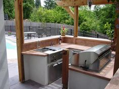 24 best Small outdoor kitchens images on Pinterest | Small outdoor