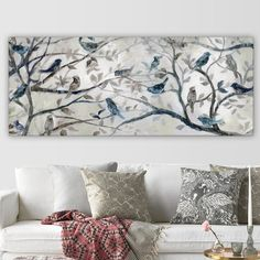 Found it at Wayfair - 'Morning Chorus' by Carol Robinson Print of Painting on Wrapped Canvas Oil Painting Abstract, Painting Prints, Art Print, Canvas Art, Canvas Prints, Wallpaper Panels, Unique Home Decor, Metal Wall Art, Wall Art Decor
