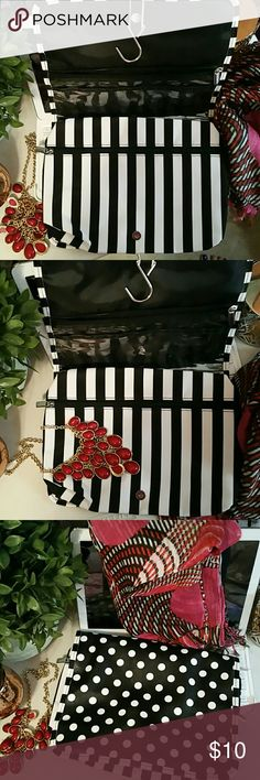 Travel cosmetic bag 2 compartments Macy's Bags Cosmetic Bags & Cases