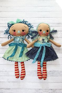 Rainy Day Best Friend Annies Primitive Raggedy Ann Dolls