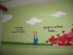 Rehberlik Sınıfı Duvar Boyaması (Tokat Melik Ahmet Gazi İlköğretim Okulu)