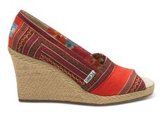 Toms wedges? Yes please!