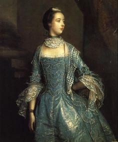 1756Sir Joshua Reynolds. Mrs Francis Beckford.