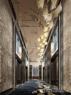 HBA+CCD酒店电梯厅设计参考115个【名师联独家细分电梯厅】 | 名师联室内设计资源分享