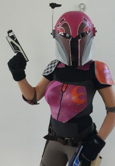 Star Wars Rebels, Sabine Wren Kostüm, Cosplay, aus Plastazote LD45-5mm, ...
