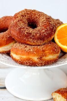 SŁODKI KOMPROMIS: Pączki angielskie - oponki/ Donuts