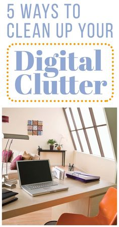 Most people can't work well in a cluttered space. Eliminating physical clutter and creating a cozy and inspiring workspace is a great way to get more done, but there's one aspect of clutter that often gets overlooked: digital clutter. In this day and age, most aspects of our lives are digital. It's just as easy to let our digital space become overwhelmed and disorganized, and it's just as important to regularly clean it out if we want to be productive. #decluttering #digitalclutter