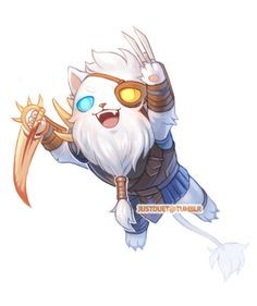 Rengar chibi LOL by justduet.deviantart.com on @deviantART justduet.tumblr.com on Tumblr