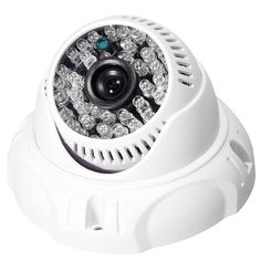 Dome AHD 1080P 2.0MP 3.6MM Analog CCTV Camera Night Vision Security Color Indoor Video Surveillance Camera NTSC PAL BNC White