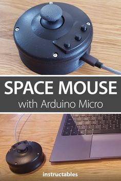 diy electronics The space mouse is a printed mouse powered with Arduino that has a joystick and three buttons. Arduino Micro, Useful Arduino Projects, Arduino Board, Arduino Wifi, Shadow Box, Fusion 360, Technology Gadgets, Futuristic Technology, Technology Design