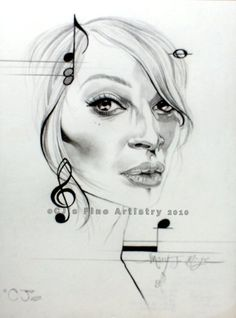 Mary J. Blige. Charcoal & graphite on paper. 2010. I enjoyed creating this minimalist piece. #art #MaryJBlige #drawing
