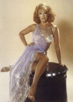 Ann Margaret, dress by Bob Mackie