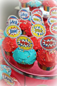 Superhero Party #partyideas #birthday