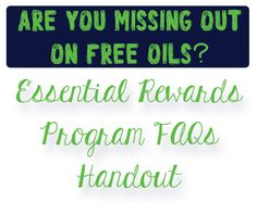 What is Young Living's Essential Rewards Program? Essential Rewards Program is an automatic monthly order processed on the same day of each month (you can change this date each month, if you so des...
