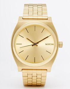 Nixon – Time Teller – Goldene Uhr   juwelier-haeger.de