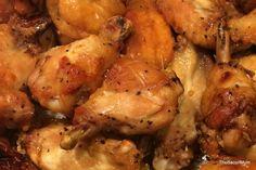 Honey Garlic Crispy Baked Chicken Wings - TheBaconMum