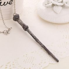 Harry Potter Inspired Magic Wand Necklace
