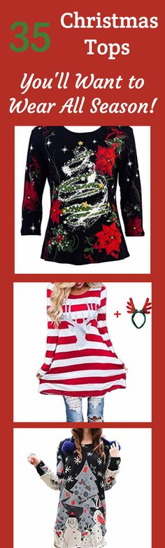 77b361b2f 229 Best Cute Christmas Sweaters for Women images | Christmas tops ...