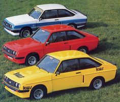 Ford Escort RS2000 Grab & KWS