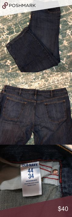 3 pair old navy jeans Men's old navy jeans 44x34. Excellent condition. Old Navy Jeans