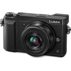 Panasonic Lumix DMC-GX85 Mirrorless Micro Four Thirds Digital Camera with 12-32mm Lens (Black)