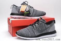 Nike Flyknit Roshe Run Two Coal Grey Black