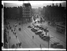 Gone Days, Old Pictures, Historical Photos, Dublin, Times Square, Travel, Historical Pictures, Antique Photos, Viajes