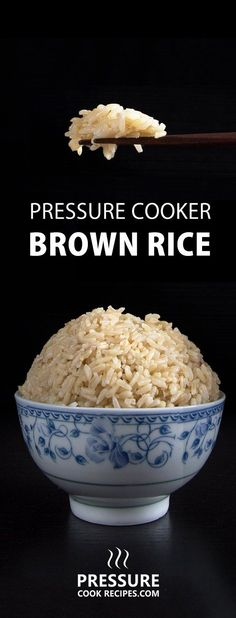 No more uncooked, burnt or mushy brown rice. Make perfect Pressure Cooker Brown Rice (Instant Pot Brown Rice) in 20 minutes! Set it and forget it.