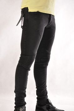 Karl Lagerfeld, Knee Boots, Jeans, Fashion, Moda, Fashion Styles, Knee High Boots, Fashion Illustrations, Fashion Models