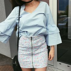 Different Styles, Floral, Skirts, Fashion, Moda, Fashion Styles, Flowers, Skirt