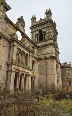 Overstone Hall, Northamptonshire - Dec 2012 - Derelict Places